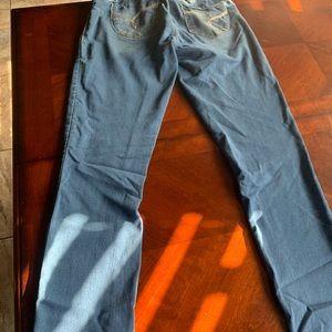 size 3 denim pants